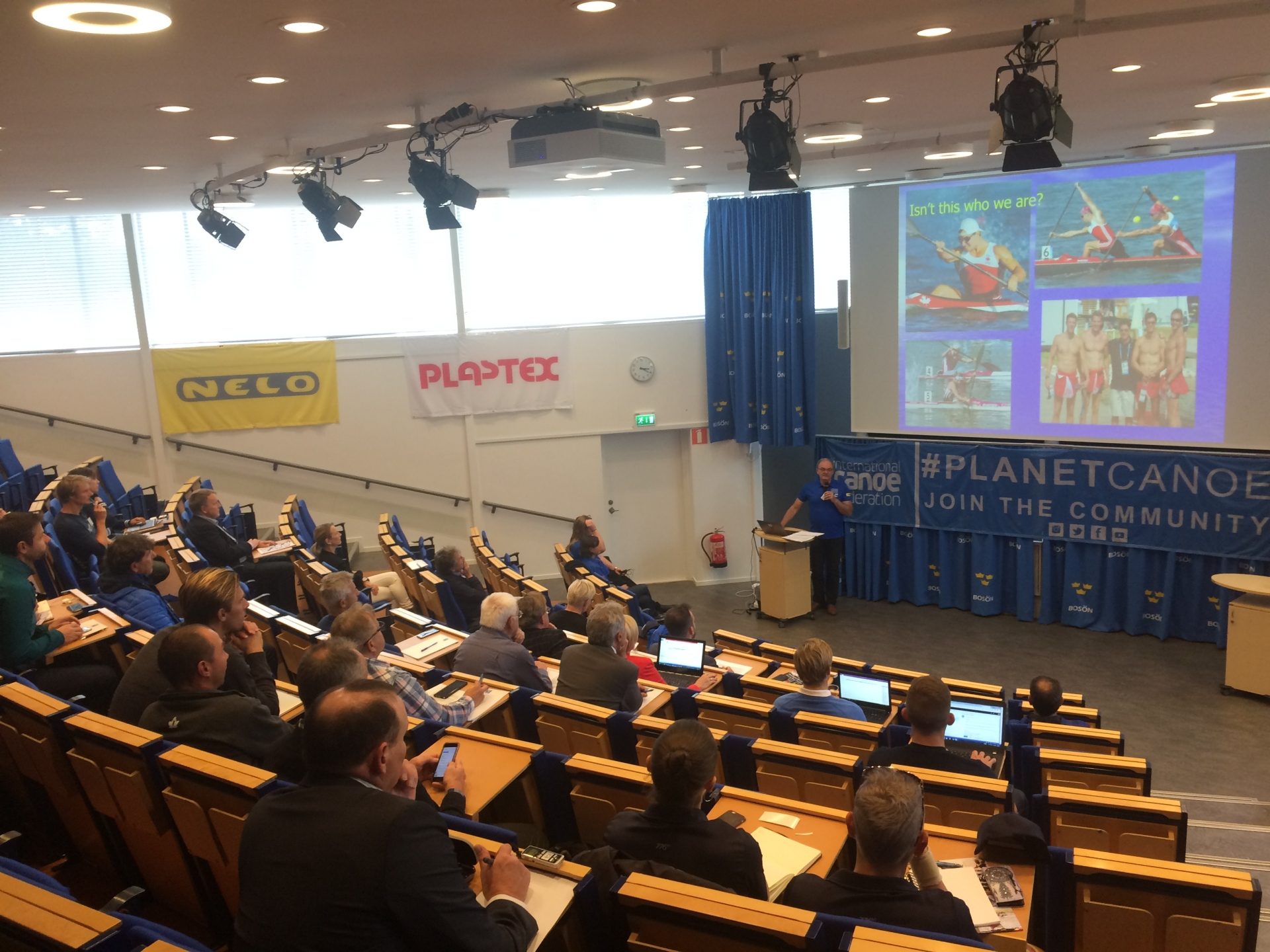 Paracanoe conference starts in Sweden | ICF - Planet Canoe