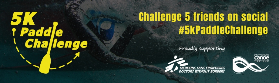 5k Paddle Challenge Canoe Kayak Virtual Competition Doctors without Borders Charity