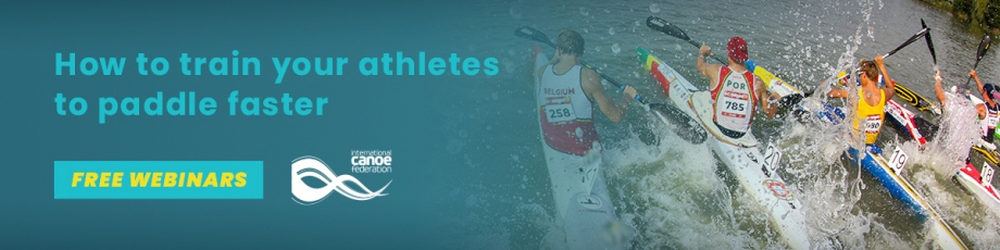 ICF Performance Education Webinar Free Online Series 7 How to train your athletes to paddle faster