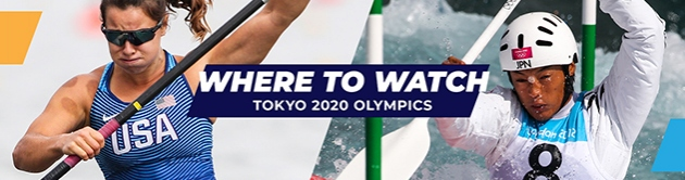 Tokyo 2020 Olympics Canoe Kayak Sprint Slalom Where to Watch Live Coverage TV Broadcast Streaming Online
