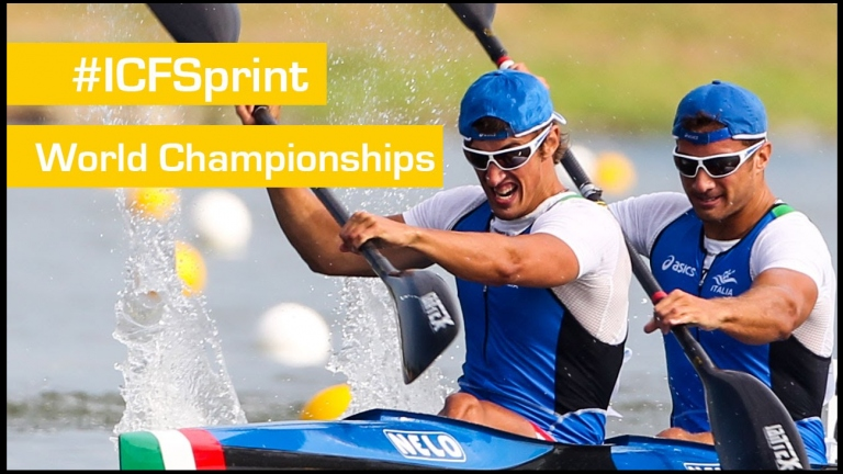 REPLAY: Sunday FINALS | 2015 ICF Canoe Sprint World Championships | Milan