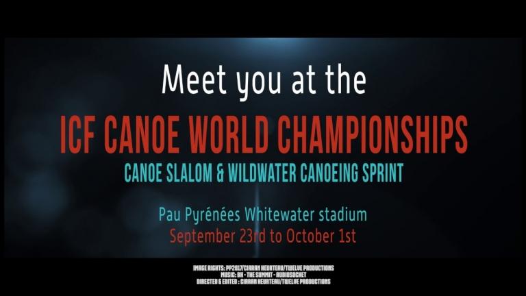 #ICFslalom & #ICFwildwater 2017 Canoe World Championships Pau Canoe Teaser