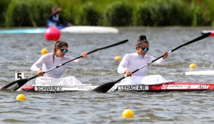 2019 ICF Sprint World Cup 1 Poznan Poland Ana Roxana LEHACI-Viktoria  SCHWARZ Austria