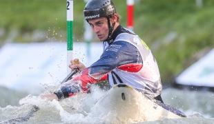 2019 ICF Canoe Slalom World Championships La Seu d'Urgell Spain Adam BURGESS