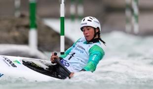 2020 ICF Canoe Slalom World Cup Ljubljana Slovenia Ana SATILA