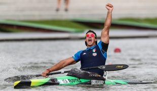 2020 ICF Canoe Sprint World Cup Szeged Hungary Andrea Domenico DI LIBERTO