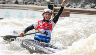 2021 ICF Canoe Slalom World Cup Markkleeberg Andrea HERZOG