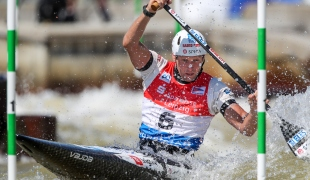 2021 ICF Canoe Slalom World Cup Markkleeberg Benjamin SAVSEK