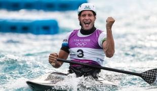 Tokyo 2020 Olympics Benjamin SAVSEK
