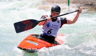 2021 ICF Canoe Slalom Junior & U23 World Championships Ljubjlana Bethan Forrow