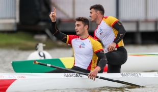 2021 Canoe Sprint European Olympic Qualifier Cayetano GARCIA, Pablo MARTINEZ