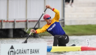 2021 Canoe Sprint European Olympic Qualifier Constantin DIBA