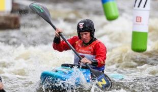 2021 ICF Extreme Canoe Slalom World Cup Prague Corinna KUHNLE