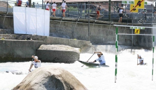 2021 ICF Canoe Slalom Junior & U23 World Championships Ljubjlana Czech Republic Junior C1 Mens Team