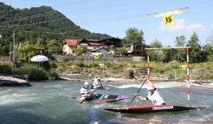 2021 ICF Canoe Slalom Junior & U23 World Championships Ljubjlana Czech Republic Junior C1 Womens Team