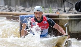 2021 ICF Canoe Slalom World Cup Markkleeberg Denis GARGAUD CHANUT