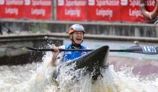 2021 ICF Canoe Slalom World Cup Markkleeberg Elena APEL
