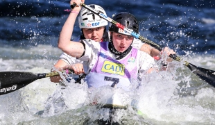 2019 ICF Wildwater Canoeing World Championships La Seu dUrgell Spain Elsa GAUBERT Margot BEZIAT