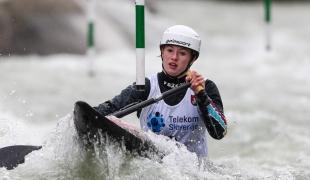 2020 ICF Canoe Slalom World Cup Ljubljana Slovenia Evy LEIBFARTH