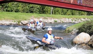 2019 ICF Wildwater Canoeing World Championships La Seu dUrgell Spain France C1 Men Team