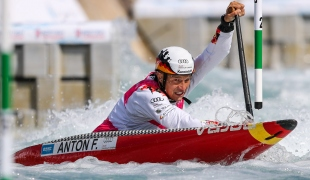 2019 ICF Canoe Slalom World Cup 1 London Franz ANTON Germany