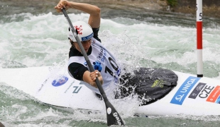 2021 ICF Canoe Slalom Junior & U23 World Championships Ljubjlana Gabriela Satkova