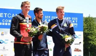 049 k1 u23 men 1000m 2017 icf canoe sprint junior u23 world championships pitesti romania