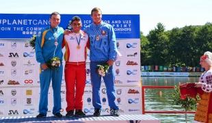 097 c1 junior men 200m 2017 icf canoe sprint junior u23 world championships pitesti romania