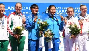 131 c2 junior women 500m 2017 icf canoe sprint junior u23 world championships pitesti romania