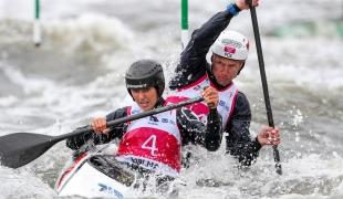 2018 ICF Canoe Slalom World Cup 2 Krakow Aleksandra STACH - Marcin POCHWALA