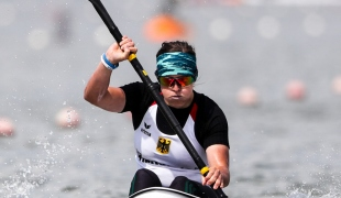 2018 ICF Canoe Sprint World Cup 1 Szeged Hungary Anja Adler GER