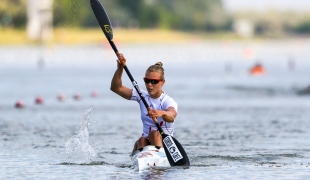 2018 ICF Canoe Sprint World Cup 1 Szeged Hungary Anna Karasz HUN