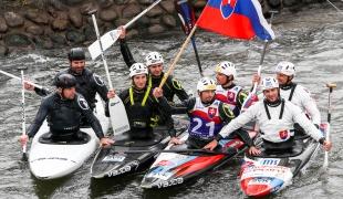 2018 ICF Canoe Slalom World Cup 1 Liptovsky Slovakia C2