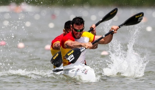 2018 ICF Canoe Sprint World Cup 1 Szeged Hungary C Toro - S Craviotto ESP