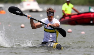 2018 ICF Canoe Sprint World Cup 1 Szeged Hungary Curtis McGrath AUS