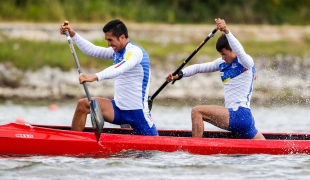daniel cipagauta sergio diaz icf canoe kayak sprint world cup montemor-o-velho portugal 2017 034