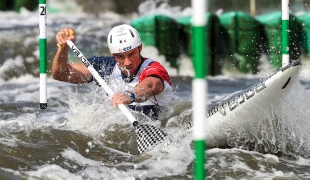 2018 ICF Canoe Slalom World Cup 2 Krakow Denis GARGAUD CHANUT FRA