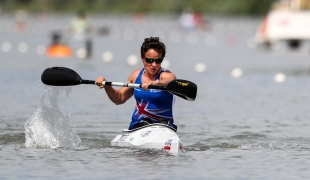 2018 ICF Canoe Sprint World Cup 1 Szeged Hungary Emma Wiggs GBR