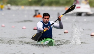 2018 ICF Canoe Sprint World Cup 1 Szeged Hungary Esteban G Farias ITA