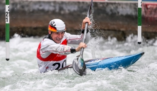 2018 ICF Canoe Slalom World Cup 3 Augsburg Germany Fabian Schweikert GER