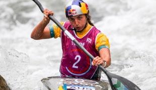 fox jessica aus 2017 icf canoe slalom world championships pau france 086