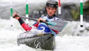 2018 ICF Canoe Slalom World Cup 1 Liptovsky Slovakia FRANKLIN Mallory GBR