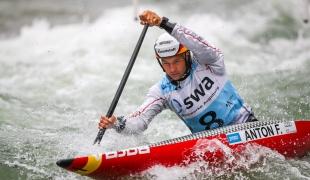 2018 ICF Canoe Slalom World Cup 3 Augsburg Germany Franz Anton GER