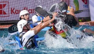 germany italy men hand tackle icf canoe polo world games 2017