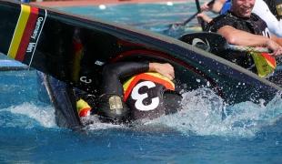 germany men celebrating icf canoe polo world games 2017