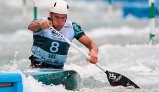 2018 ICF Canoe Slalom World Championships Rio Brazil Gold in C2 mixed