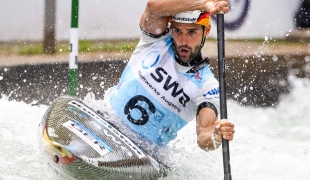 hannes aignericf canoe slalom world cup 2 augsburg germany 2017 008