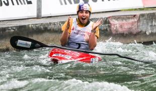 2018 ICF Canoe Slalom World Cup 3 Augsburg Germany Jessica Fox AUS
