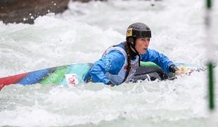 2018 ICF Canoe Slalom World Cup 3 Augsburg Germany Katerina Kudejova CZE