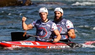 klauss gauthier - peche matthieu fra 2017 icf canoe slalom world championships pau france 057 0